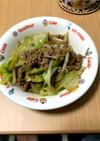 キャベツとひき肉の簡単レシピ