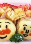クッキー型で作るアンパンマン弁当