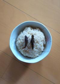 炊飯器でイナゴ飯