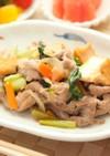 豚肉と厚揚げの生姜焼き⁂ポン酢でさっぱり