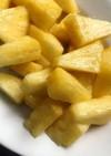 絶品デザート パイナップルのバニラマリネ