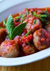 キビナゴのポルペッティ・トマト煮