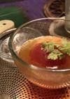 丸ごとトマトのスープ