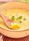 粒コーンの卵とじスープ