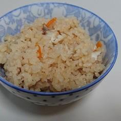 メバルの炊き込みご飯