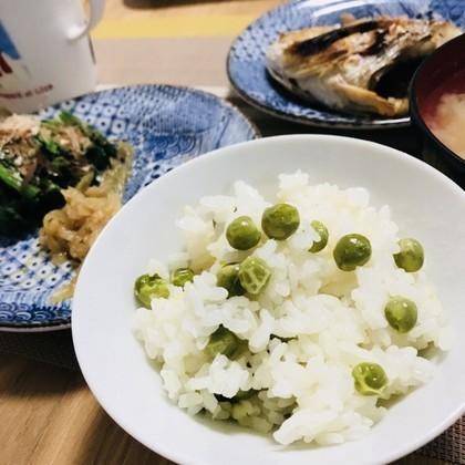 我が家の豆ごはん♡