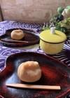 簡単料理『白あんミルクの茶巾絞り』