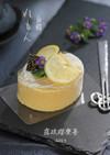 和洋融合*レモンの白餡ロールケーキ