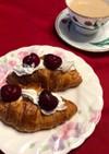 コストコクロワッサンで甘い食卓