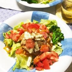 大好きケチャップ味☆5分で豚肉炒め丼