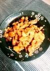 鶏皮とセセリの甘辛唐揚げ❤