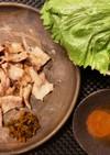 ビタミン豊富★辛子高菜でサムギョプサル