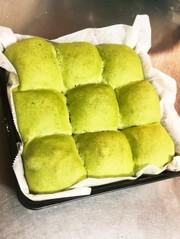 ふわふわっ!豆腐とほうれん草のあんパンの写真