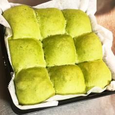 ふわふわっ!豆腐とほうれん草のあんパン