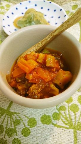 食べる冷たいスープ