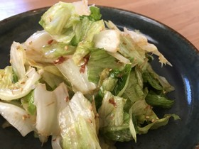 簡単無限レタスサラダ