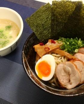 濃厚鶏白湯つけ麺♪