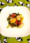 鶏肉の彩り野菜炒め