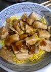 鶏胸肉のテリヤキ丼 ……親子丼?