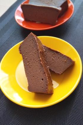 簡単過ぎる濃厚チョコレートチーズケーキ