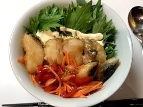 白身魚の南蛮漬け丼