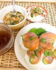 酢飯を使わない☆簡単!手毬寿司の写真
