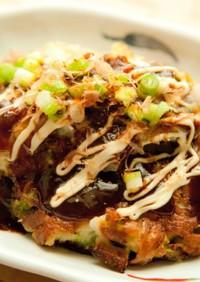 ヘルシーお好み焼き⁂白菜と豆腐でふわとろ