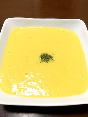 生とうもろこしを使った濃厚スープ