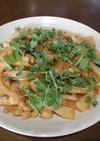 鯛とポテトのケチャップ炒め