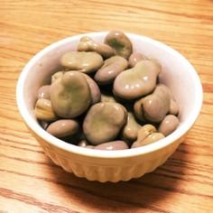 簡略簡単・そら豆の田舎風煮物