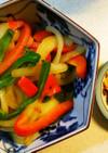 ガーリックチップとガーリック風味野菜炒め