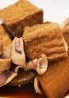 イカ、大根、厚揚げの煮物【圧力鍋使用】。