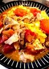【簡単 男の手料理】5分トマト卵豚肉炒め