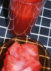 甘いトマト、甘いトマトジュース(無塩)