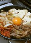 豚の肉豆腐☆キムチ・玉ねぎ・しらたき入り