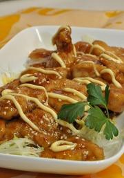 鶏むねの甘酢煮の写真