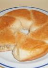 フライパンで焼くパン ピロシキ風