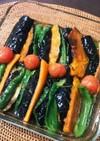 とっても簡単!夏野菜の煮浸し