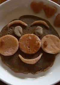 アレっ子も♪アンパンマンの米粉パンケーキ