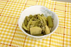 アサリとふきの煮物