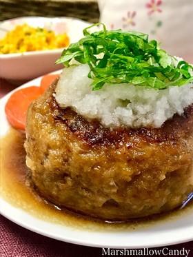 ふっくら肉厚♡和風おろしポン酢ハンバーグ