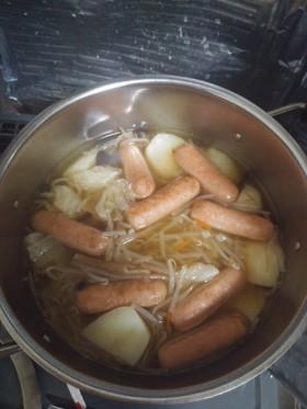 ポトフ風コンソメスープ
