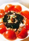 カット野菜①もずく酢パックで簡単サラダ