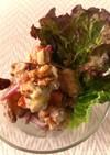 さつま芋と人参と木の実のサラダ♪