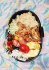 高校男子弁当♡天かす飯と焼き肉丼5/29