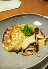 サバ缶で豆腐ハンバーグ