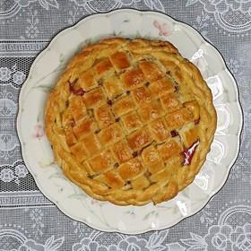 ルバーブのパイ