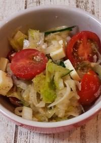簡単♪*゚野菜たっぷりさっぱりサラダ
