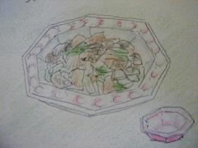 チンゲン菜の中華前菜☆サラダ