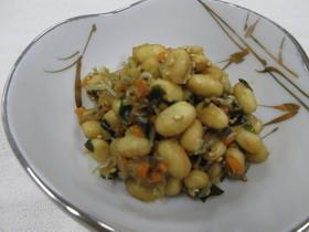 大豆とちりめんの炒め煮